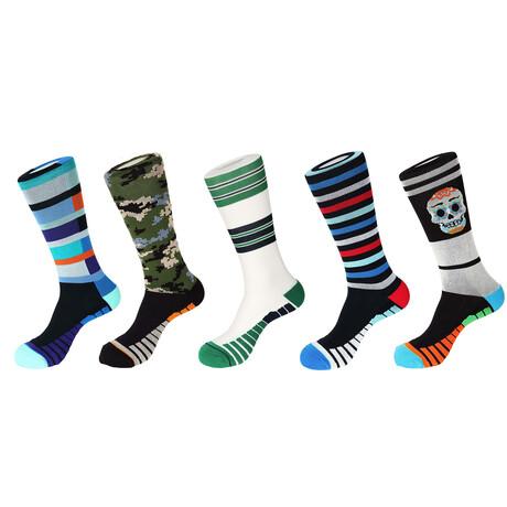 Fillmore Athletic Socks // Pack of 5