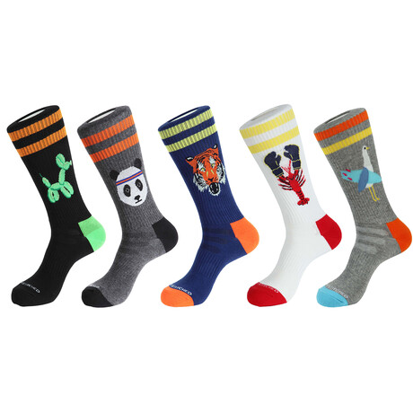 Presidio Athletic Socks // Pack of 5
