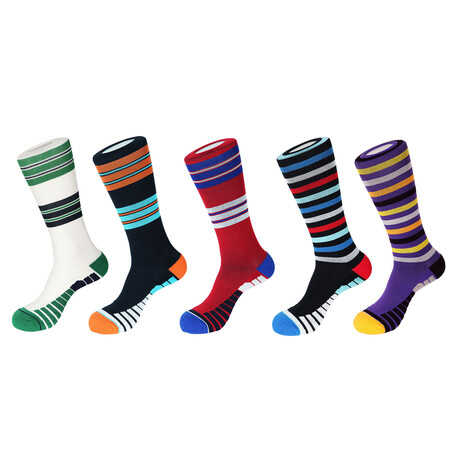 Florence Athletic Socks // Pack of 5
