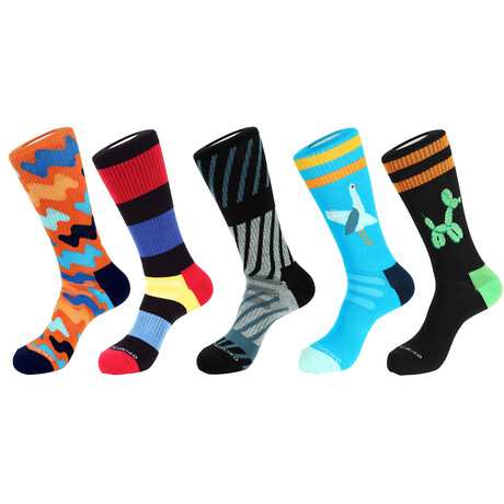 Denali Athletic Socks // Pack of 5