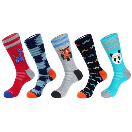 Napa Athletic Socks // Pack of 5
