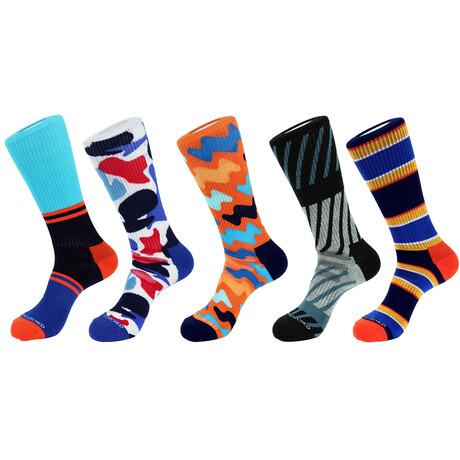 Monte Carlo Athletic Socks // Pack of 5