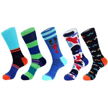 Tahoe Athletic Socks // Pack of 5