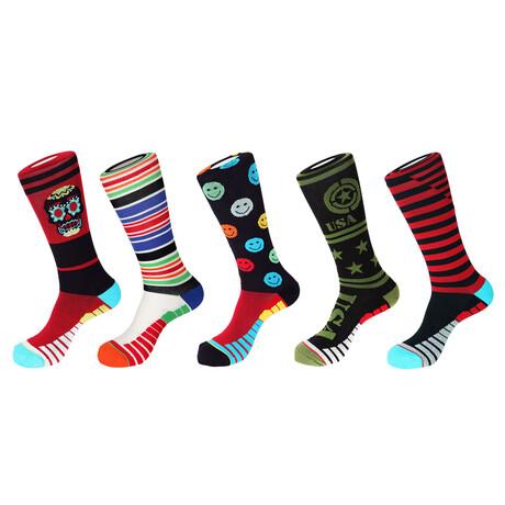Capri Athletic Socks // Pack of 5