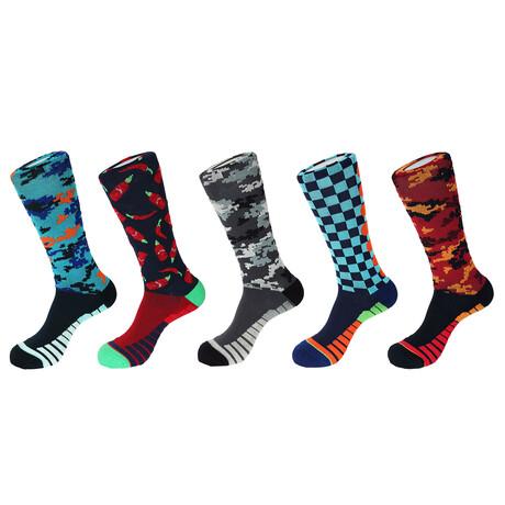 Antibes Athletic Socks // Pack of 5