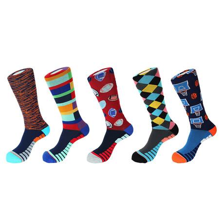 Miami Athletic Socks // Pack of 5
