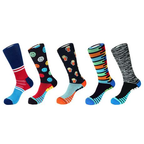 Austin Athletic Socks // Pack of 5