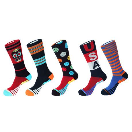 Mykonos Athletic Socks // Pack of 5