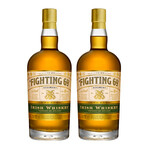 Irish Whiskey Set // 2 Bottles + 2 Shot Glasses // 750 ml Each