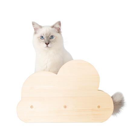 Moku // Wall-Mounted Cat Shelf