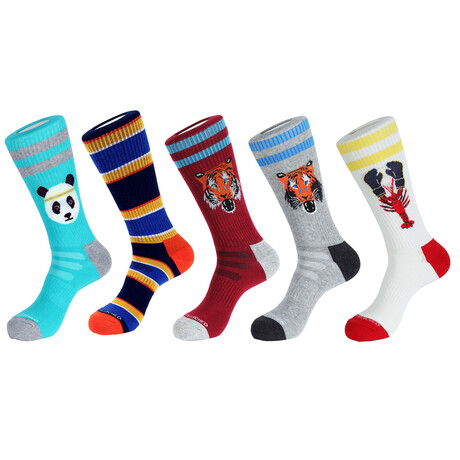 Athens Athletic Socks // Pack of 5