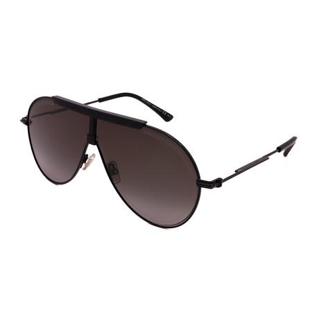 Jimmy Choo // Men's EDDY-S-807 Aviator Sunglasses // Black