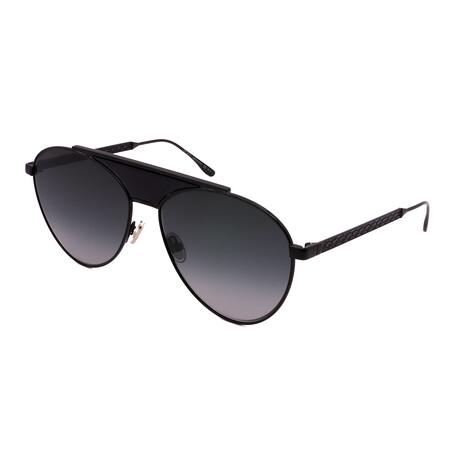 Jimmy Choo // Men's AVE-S-807 Aviator Sunglasses // Black