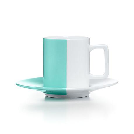 Espresso Cup + Saucer Set // New