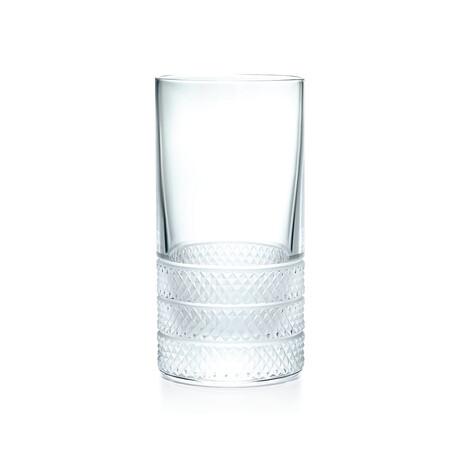 Diamond Point Highball Glass // New