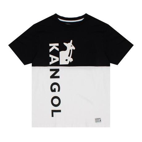 RBW Colorblock T-Shirt // Black + White (S)
