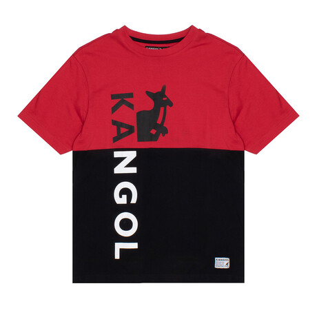 RBW Colorblock T-Shirt // Red + Black (S)