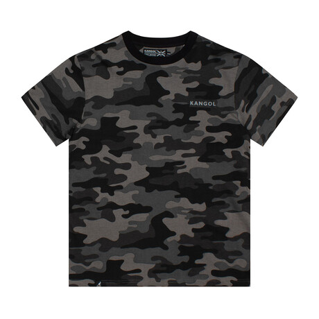 Camouflage Crewneck Tee + Print // Urban (S)