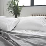 Signature 2 Set Pillow Cases  // White (King)