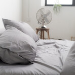 Signature 2 Set Pillow Cases  // Stone (Standard)