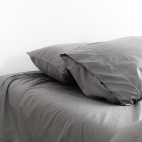 Extra Luxe 2 Set Pillow Cases  // Stone (Standard)