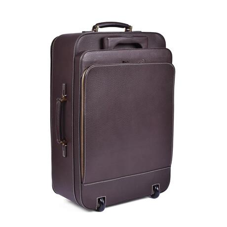 Loro Piana // Rolling Luggage // Brown
