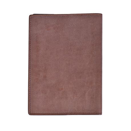 Loro Piana // Passport Cover // Brown