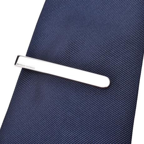 Brunello Cucinelli // Tie Bar // Silver
