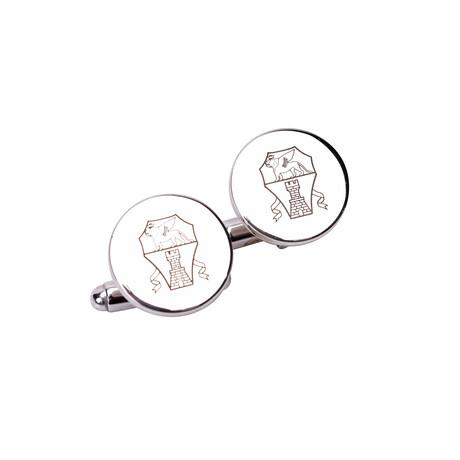 Brunello Cucinelli // Silver Cufflinks // Silver