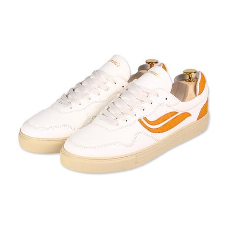 G-Soley // White + Pumpkin (Size 36)