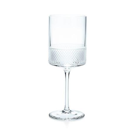 Diamond Point Wine Glass // New