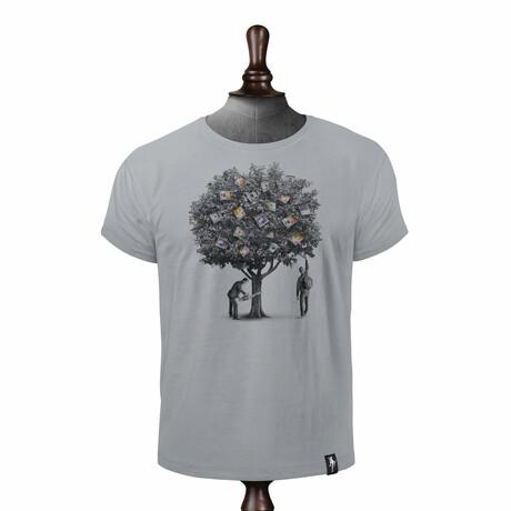 Money Tree T-shirt // Highrise Gray (XS)