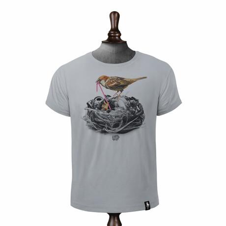 Birds Nest T-shirt // Highrise Gray (XS)