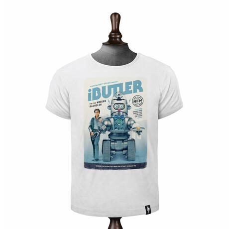 iButler T-Shirt // Vintage White (XS)