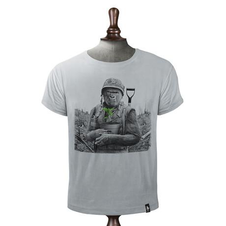 Gorilla Warfare T-Shirt // Highrise Gray (XS)