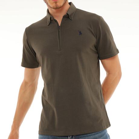 Donald T-Shirt // Khaki Green (Small)