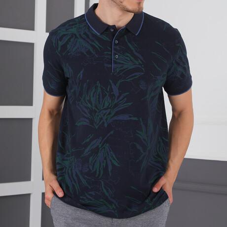 Henshaw T-Shirt // Dark Blue (Small)