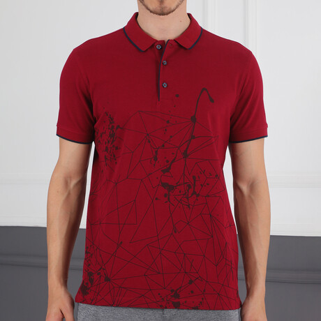 Dio Rise T-Shirt // Burgundy (Small)