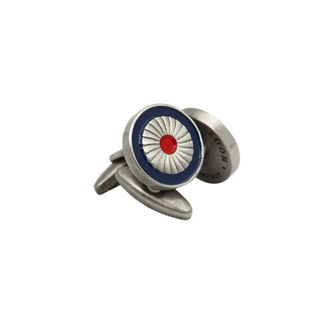 The RAF Jet Engine // Blue + Red + Silver