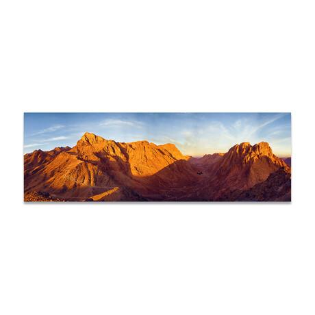 """Rock Mountains 2 (16""""H x 48""""W x 0.5""""D)"""