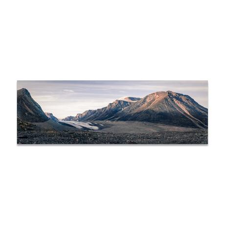 """Rock Mountains 4 (16""""H x 48""""W x 0.5""""D)"""