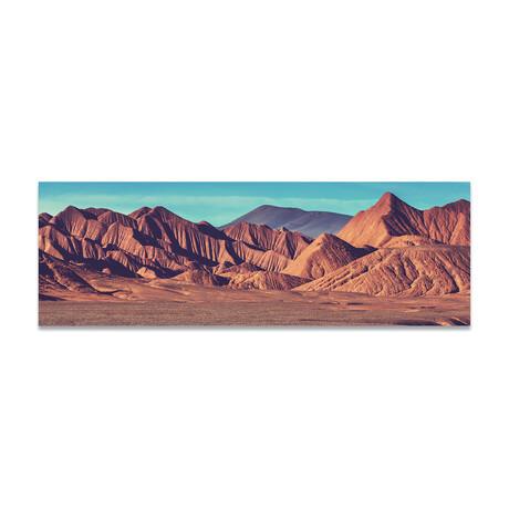 """Rock Mountains 1 (16""""H x 48""""W x 0.5""""D)"""