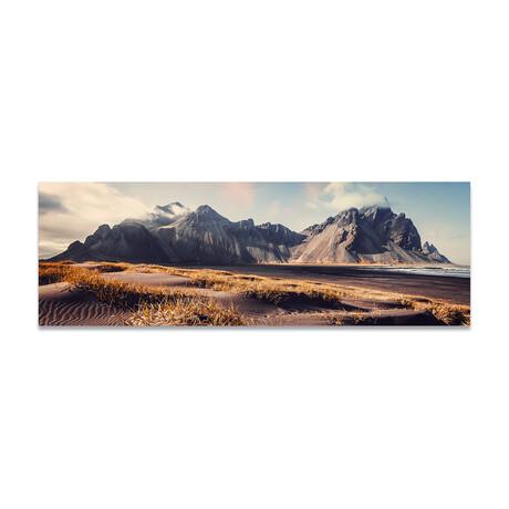 """Rock Mountains 3 (16""""H x 48""""W x 0.5""""D)"""