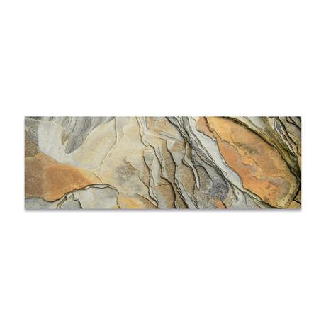 """Rock Texture 1 (16""""H x 48""""W x 0.5""""D)"""