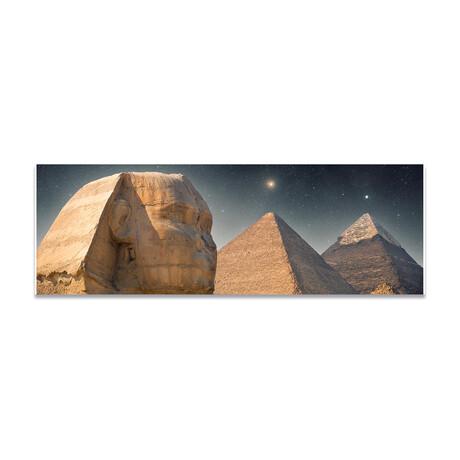 """Giza Pyramids Mystical (16""""H x 48""""W x 0.5""""D)"""