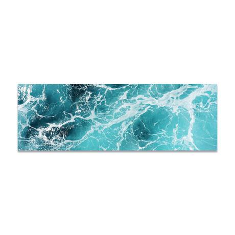 "Aerial Water (16""H x 48""W x 0.5""D)"