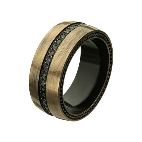 CZ Ring // Antique (Size: 9)