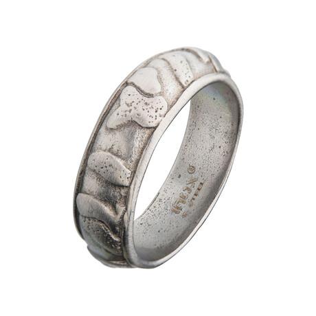 Matte Canyon Ring // Silver (Size 9)