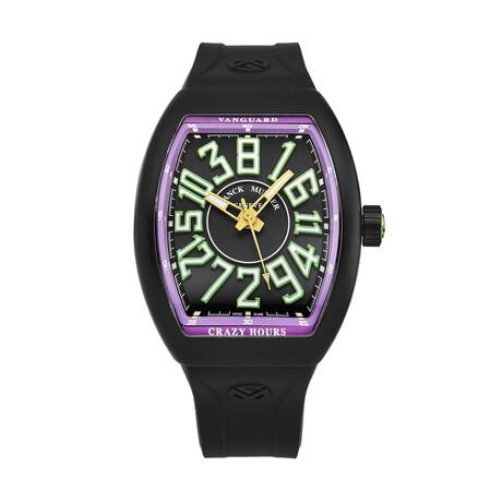 Franck Muller Vanguard Crazy Hours Automatic // 45CHTTBLKGRNPRL