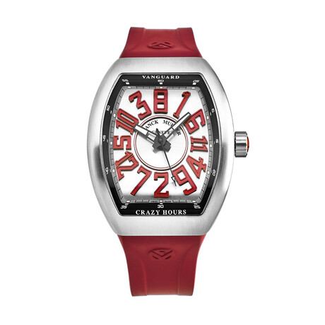 Franck Muller Vanguard Crazy Hours Automatic // 45CHACBRRDRBR